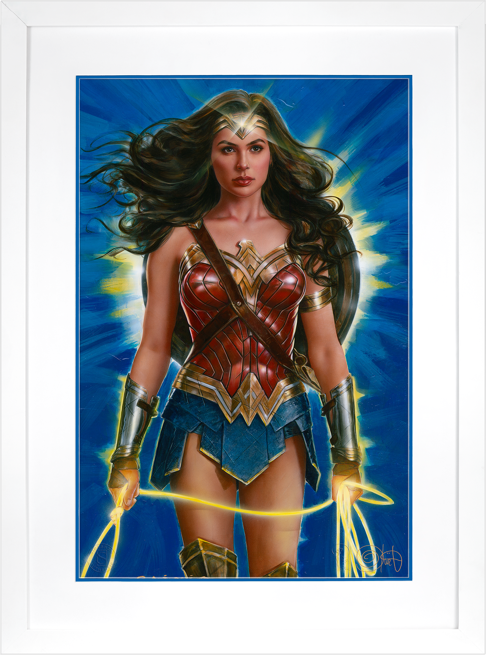 Ozone Productions Wonder Woman: Lasso of Truth Art Print