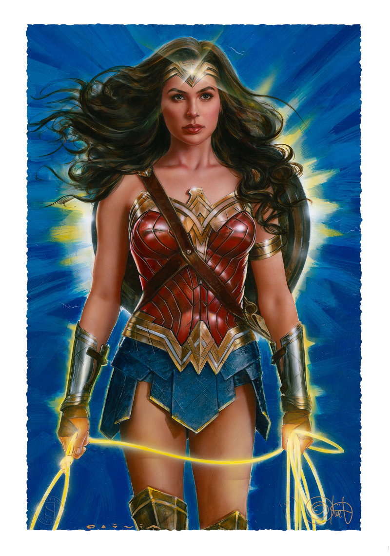 Wonder Woman: Lasso of Truth Art Print -
