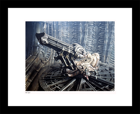 Alien Life Form Framed Print