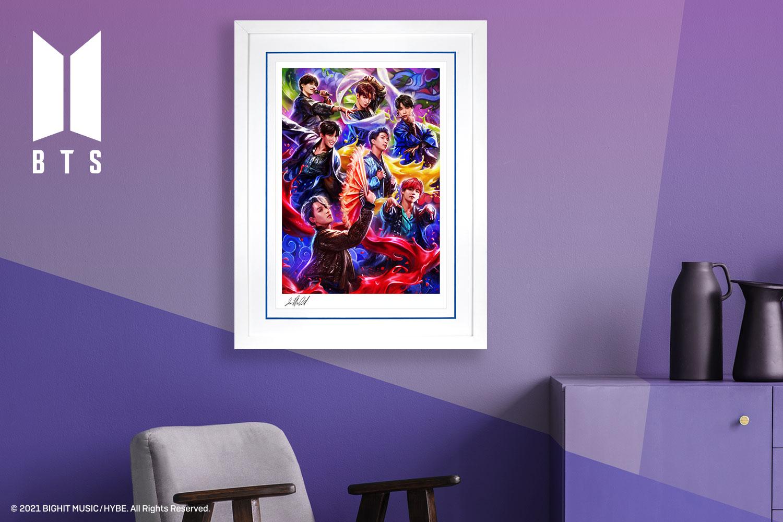 BTS: Idol Art Print feature image