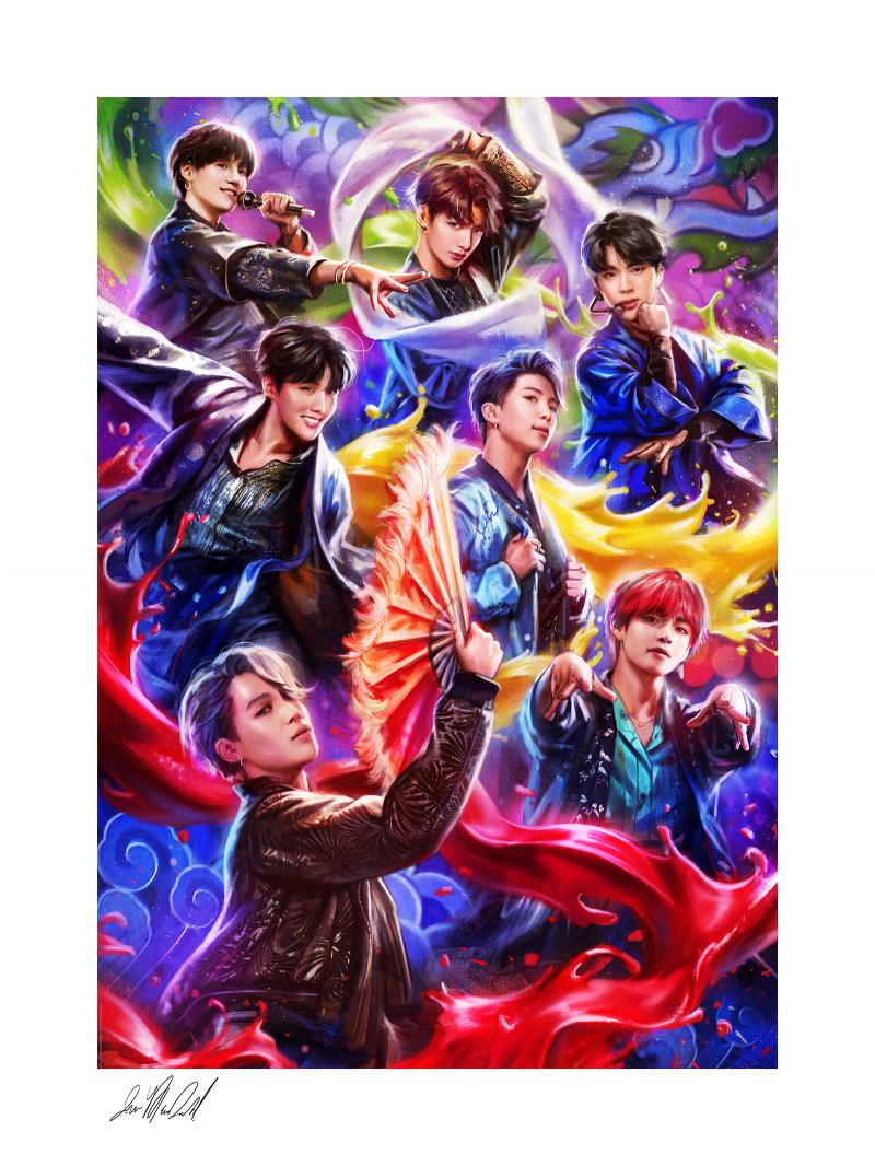 BTS: Idol Art Print -