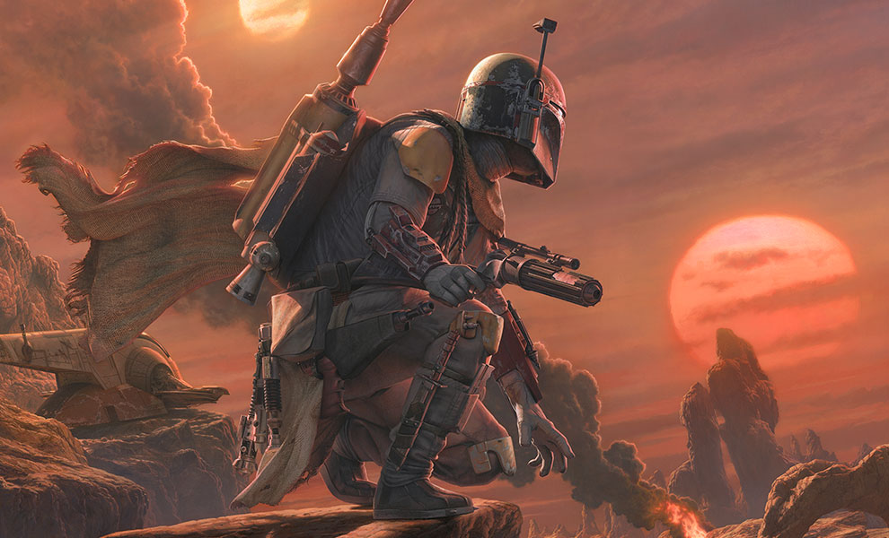 Gallery Feature Image of Boba Fett: Dead or Alive Art Print - Click to open image gallery