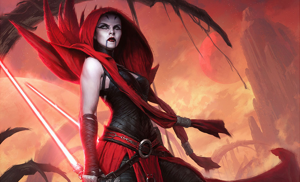Gallery Feature Image of Asajj Ventress: Ascension Art Print - Click to open image gallery