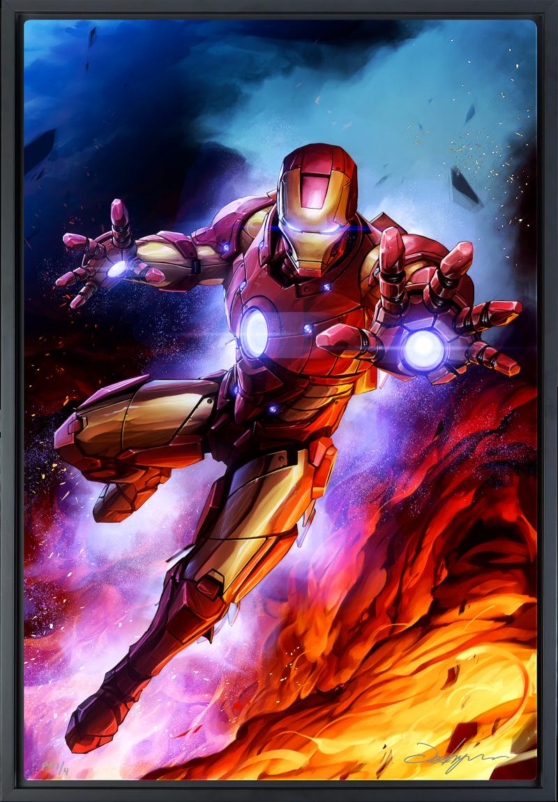 Iron Man Art Print -