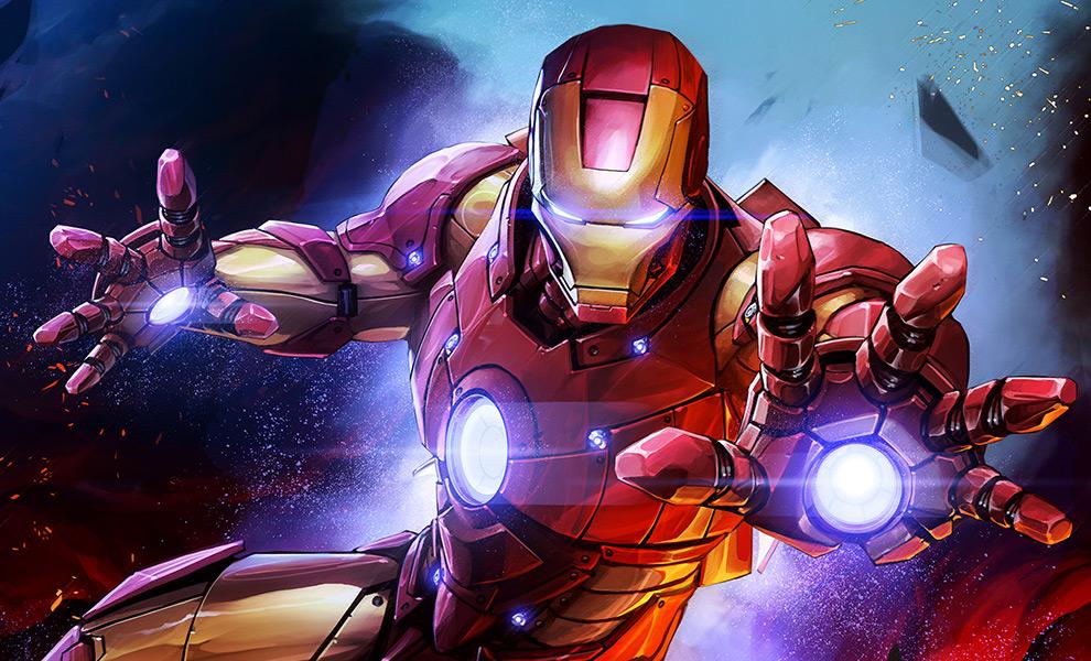 Iron Man Art Print feature image