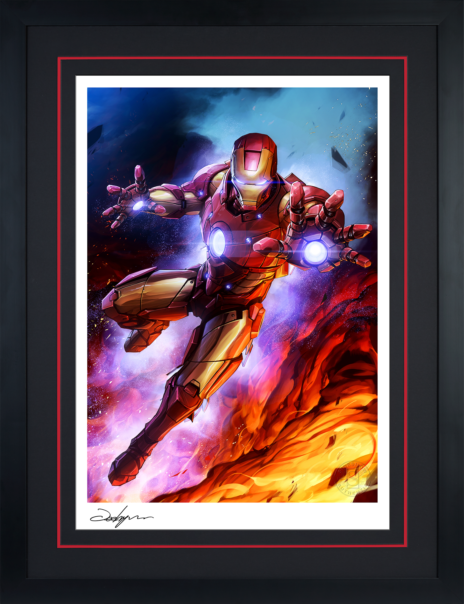 Sideshow Collectibles Iron Man Art Print
