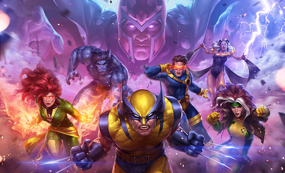 Gallery Feature Image of MARVEL Future Fight: X-Men Art Print - Click to open image gallery
