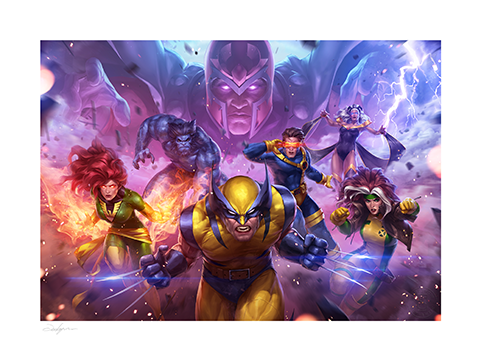 Sideshow Collectibles MARVEL Future Fight: X-Men Art Print