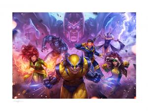 MARVEL Future Fight: X-Men Art Print
