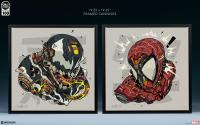 Gallery Image of Spider-Man & Venom MECHASOUL Set Art Print