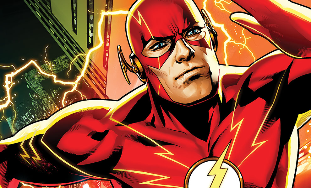 Gallery Feature Image of The Flash Art Print - Click to open image gallery