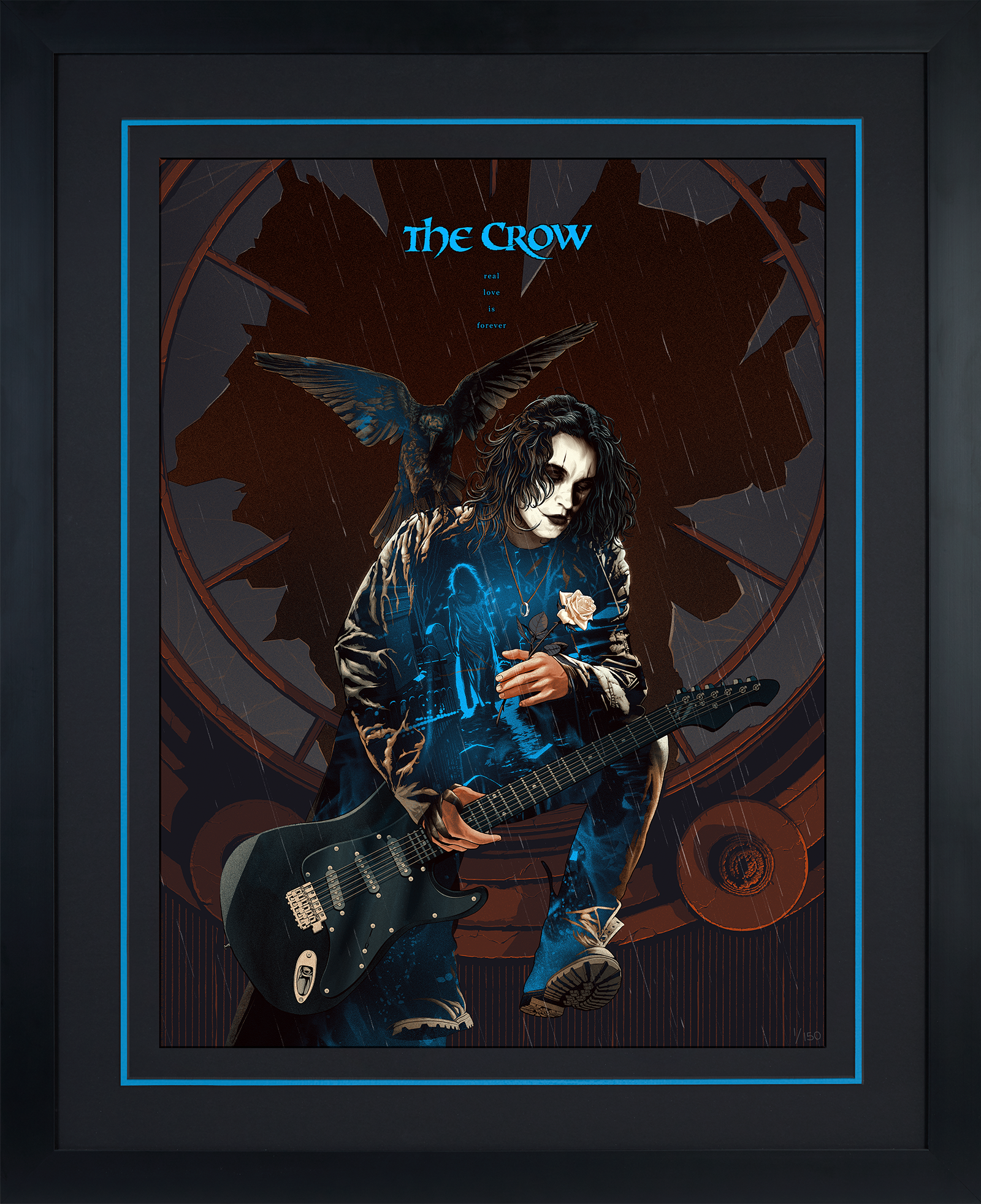 Sideshow Collectibles The Crow: Real Love Is Forever Variant Art Print