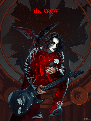 The Crow: Real Love Is Forever Art Print