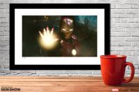 Gallery Image of Iron Man Fights War Machine Art Print