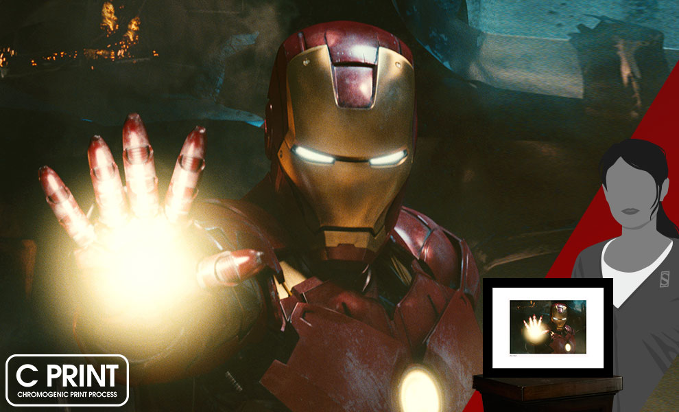 Gallery Feature Image of Iron Man Fights War Machine Art Print - Click to open image gallery