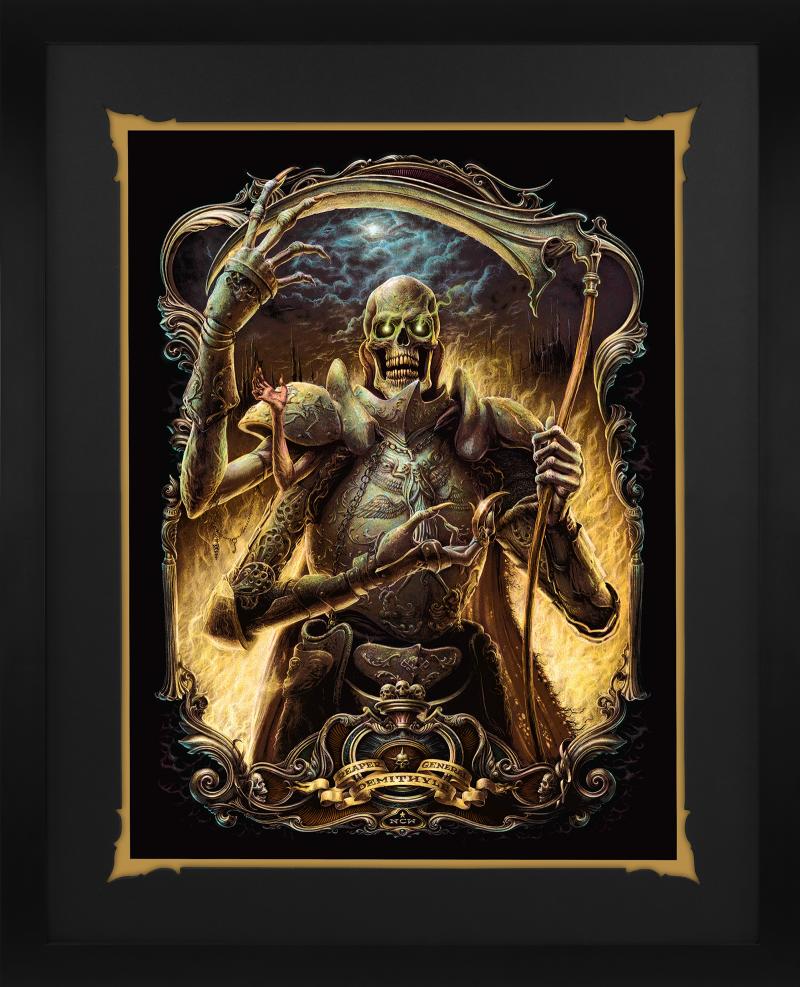 Demithyle: Reaper General Art Print -