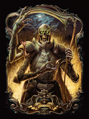 Demithyle: Reaper General Art Print