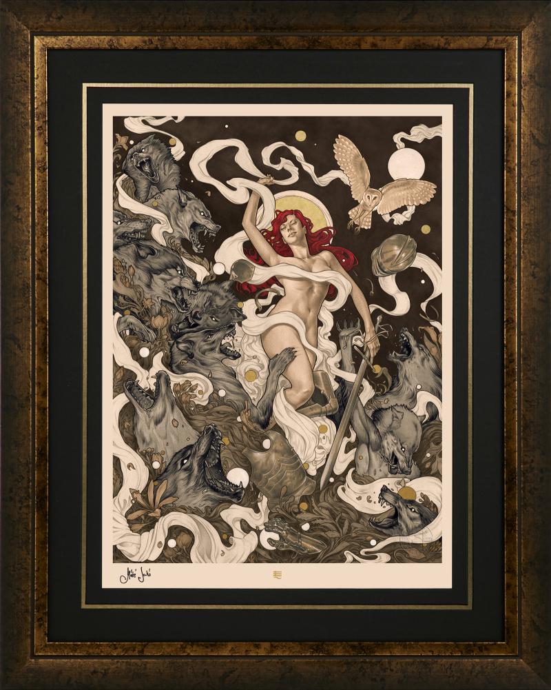 Red Art Print -