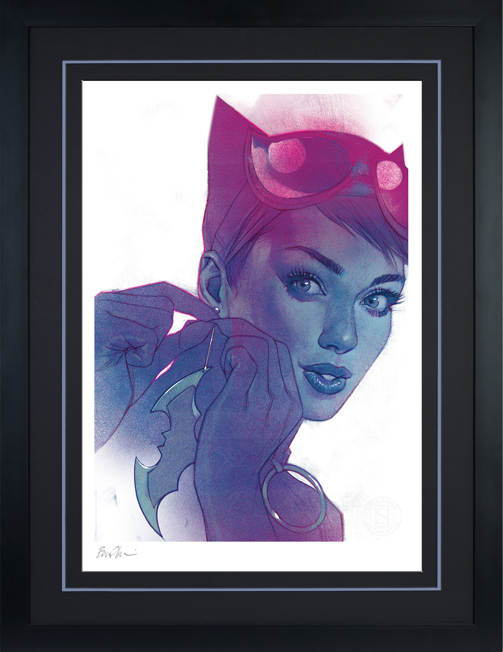 Sideshow Collectibles Catwoman #7 Art Print