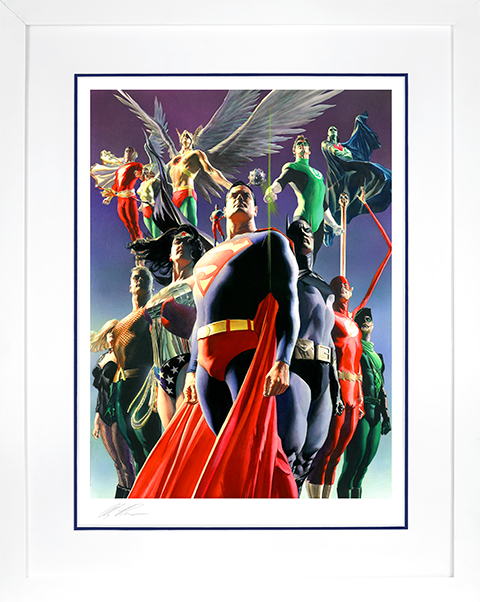 Alex Ross Art JLA: Secret Origins Art Print