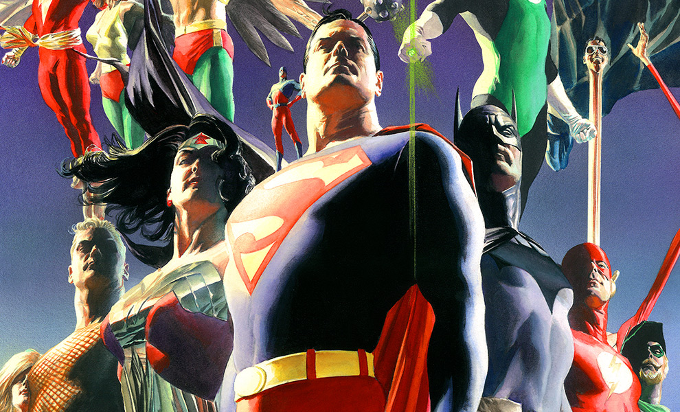 Gallery Feature Image of JLA: Secret Origins Art Print - Click to open image gallery