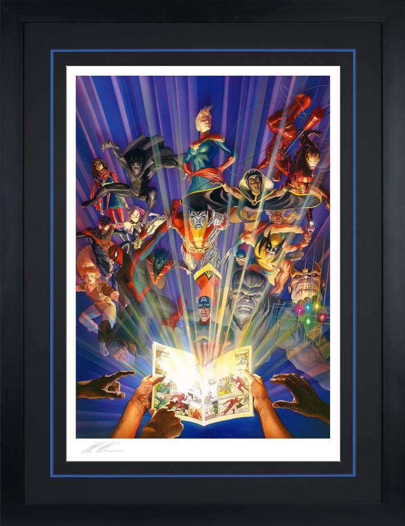 Marvel Comics #1000 Art Print -