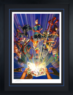 Marvel Comics #1000 Art Print