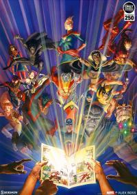 Gallery Image of Marvel Comics #1000 Art Print