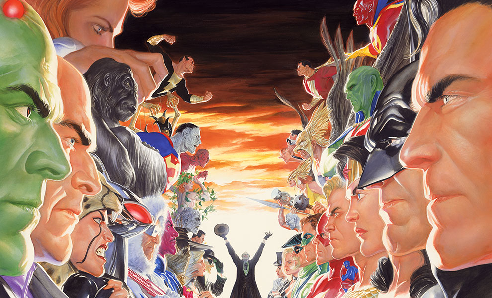 Gallery Feature Image of Absolute Justice: Battle Art Print - Click to open image gallery