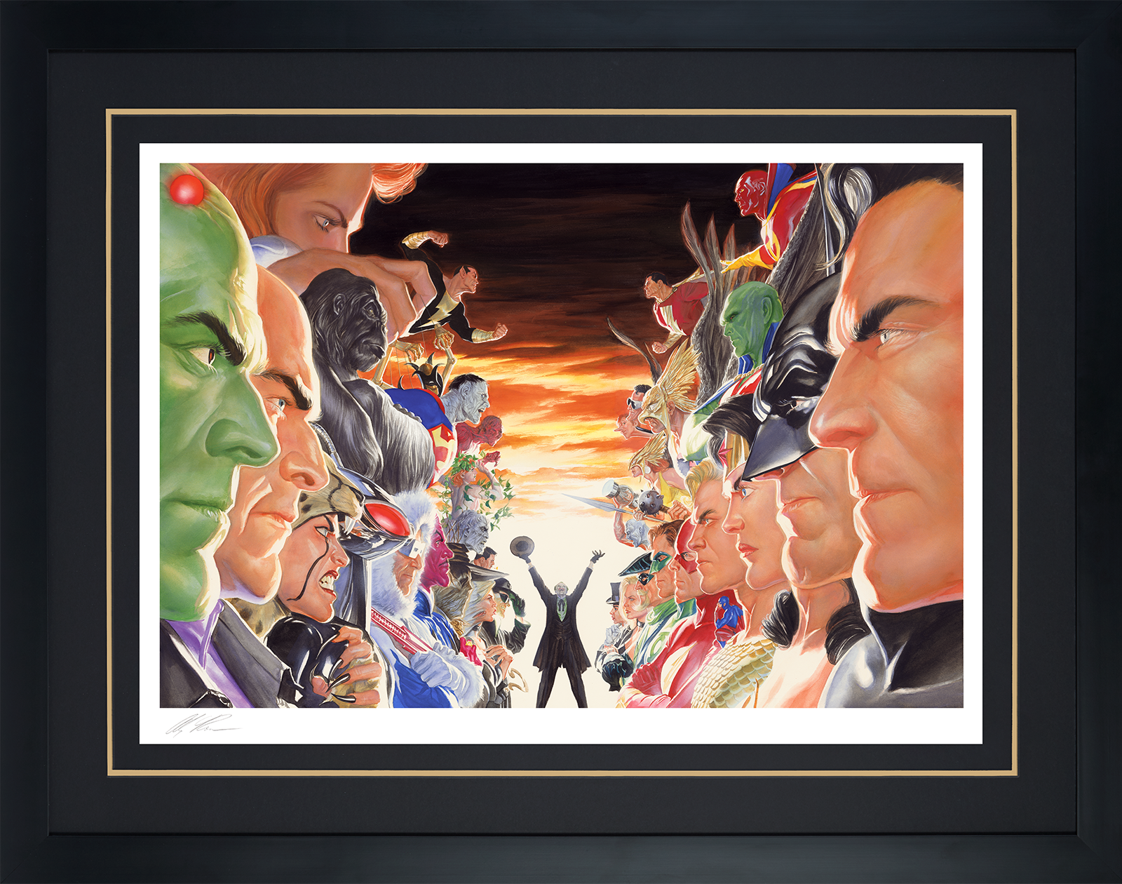 Alex Ross Art Absolute Justice: Battle Art Print
