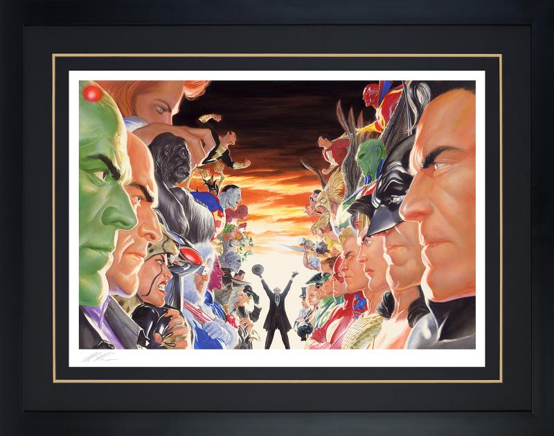 Absolute Justice: Battle Art Print -