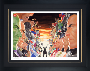 Absolute Justice: Battle Art Print