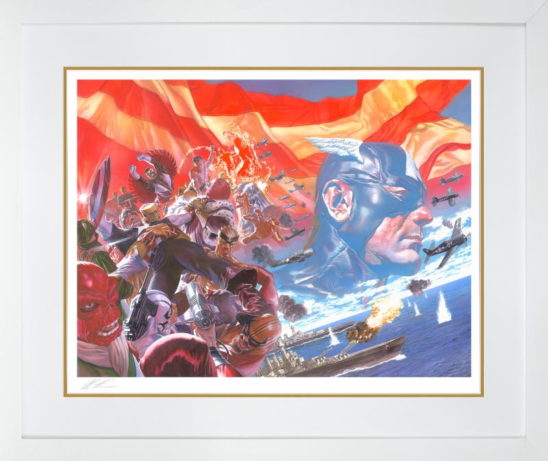 Captain America: Winter in America Art Print -