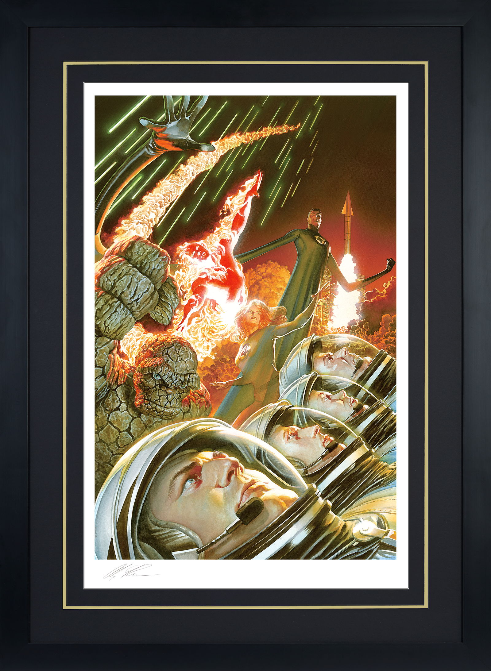 Alex Ross Art Marvel 75th Anniversary: Fantastic Four Art Print