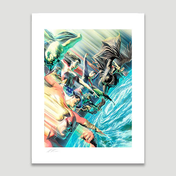 Protectors of the Universe Art Print