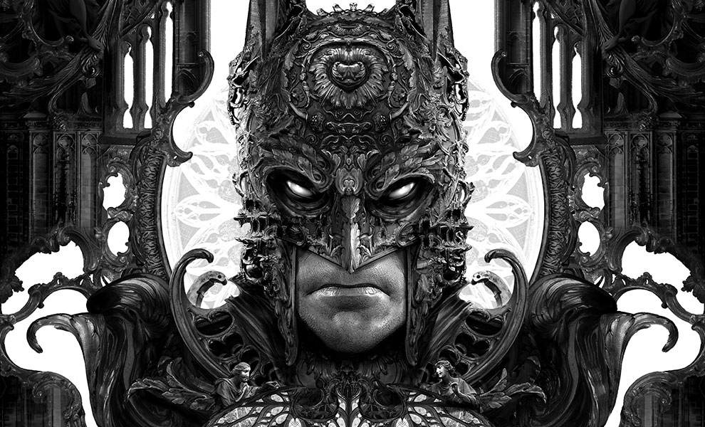 Gallery Feature Image of Batman Art Print - Click to open image gallery