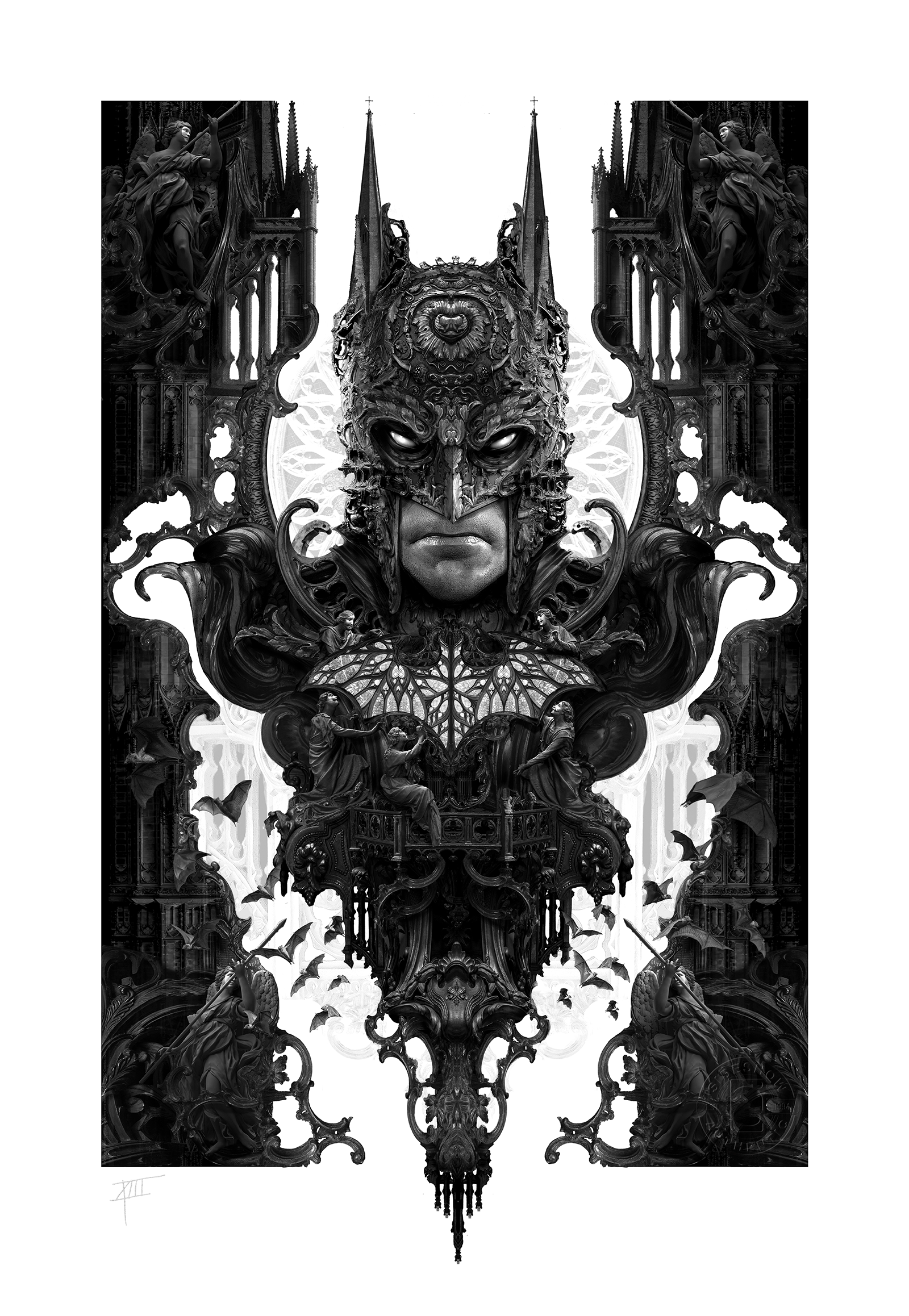 Sideshow Collectibles Batman Art Print