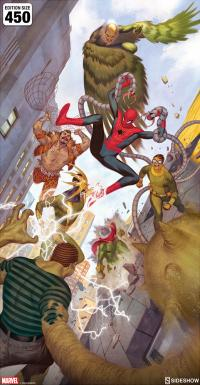 Gallery Image of Spider-Man vs Sinister Six Art Print