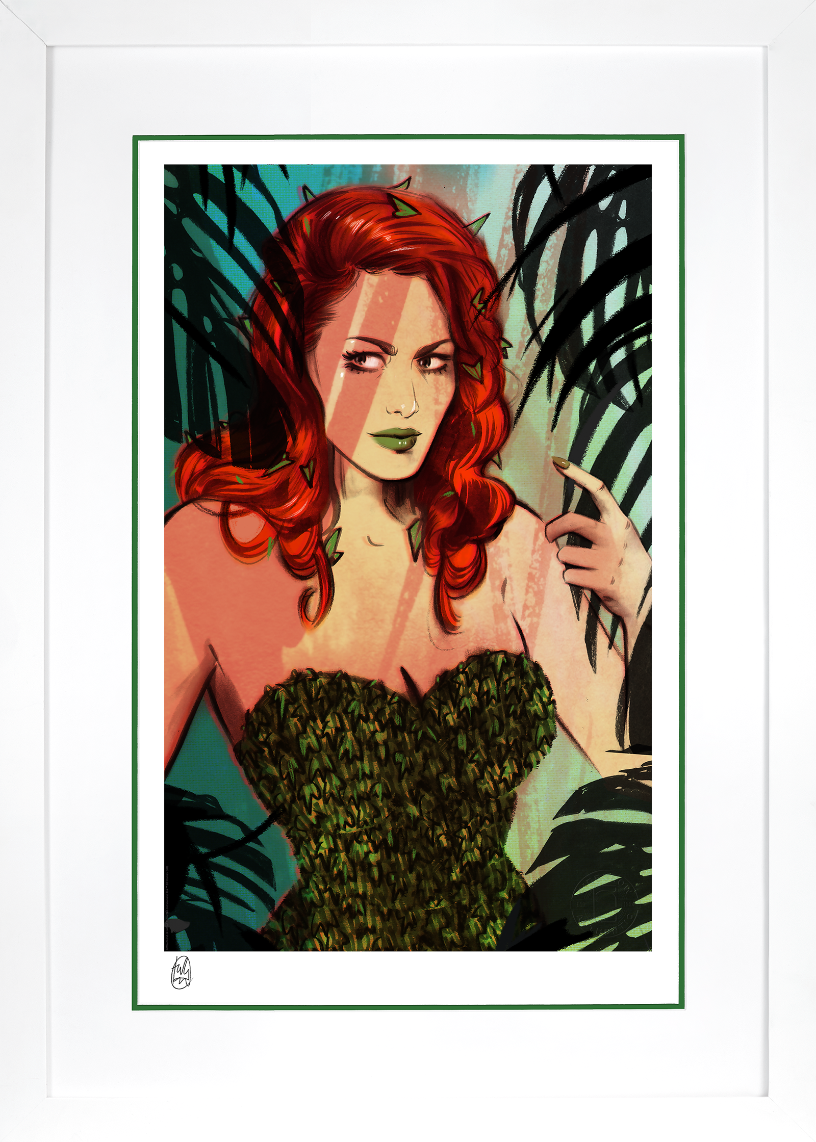 Sideshow Collectibles Poison Ivy Art Print