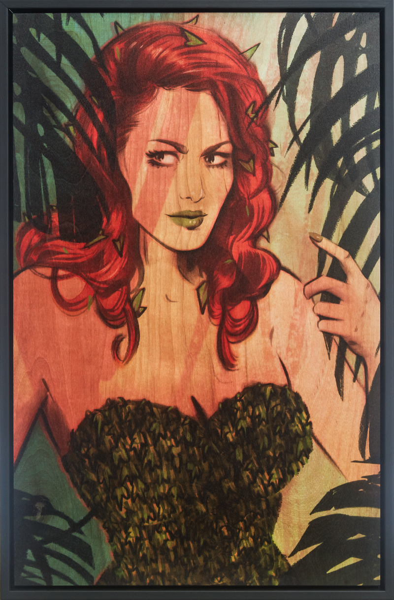 Poison Ivy Art Print -