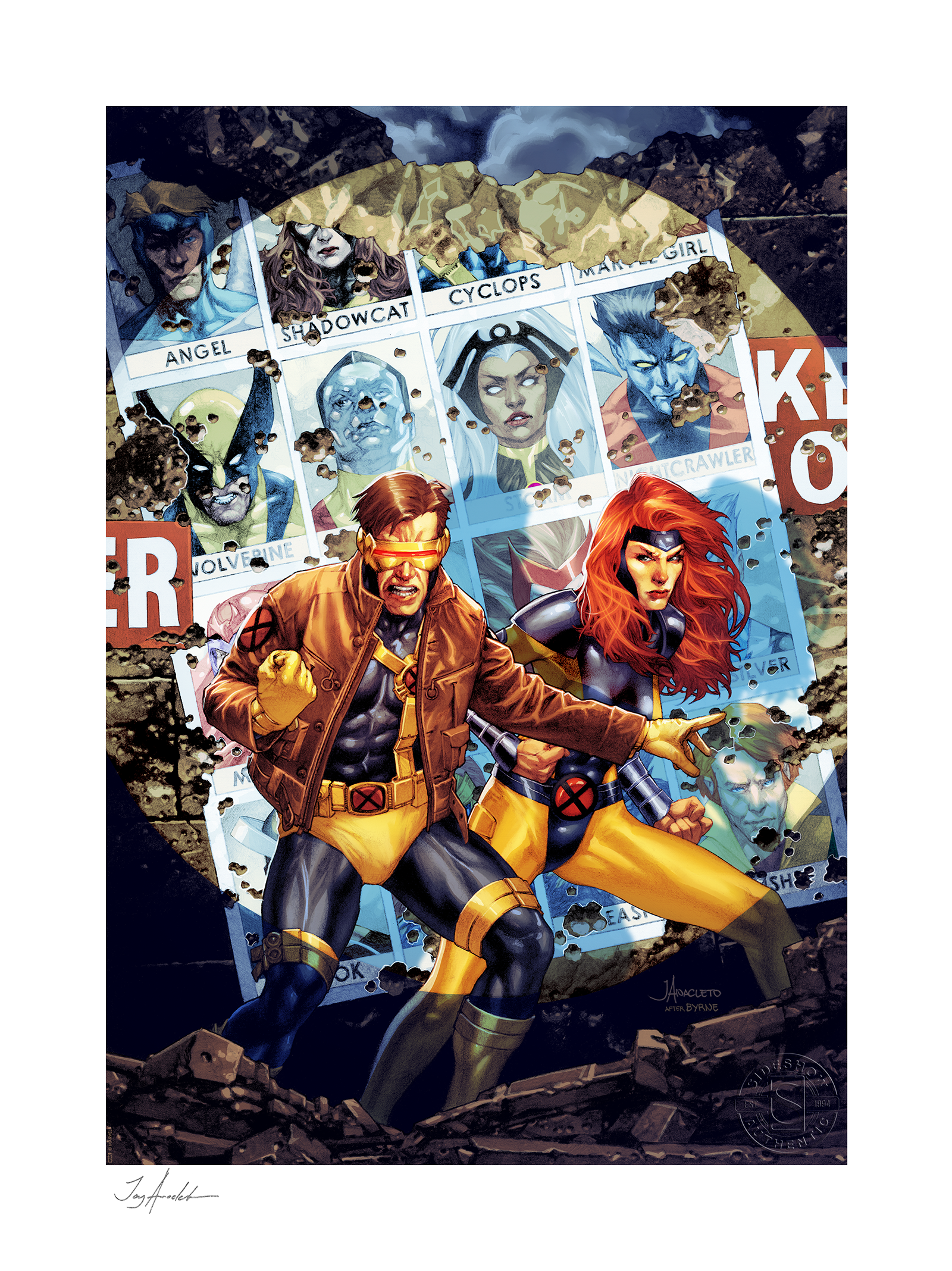 Sideshow Collectibles X-Men #7 Art Print