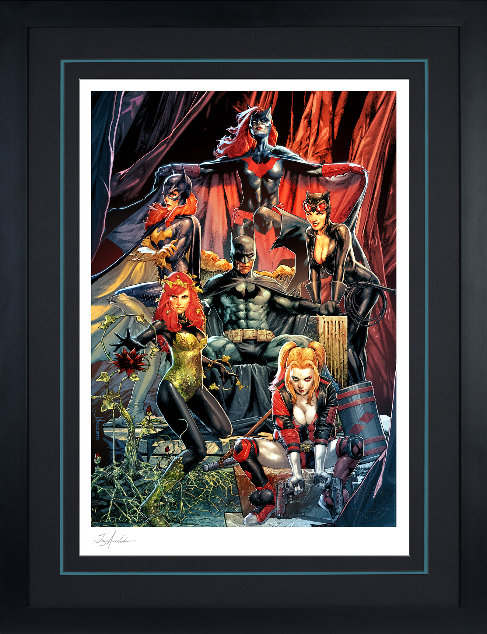 Sideshow Collectibles Batman: Detective Comics #1000 Art Print