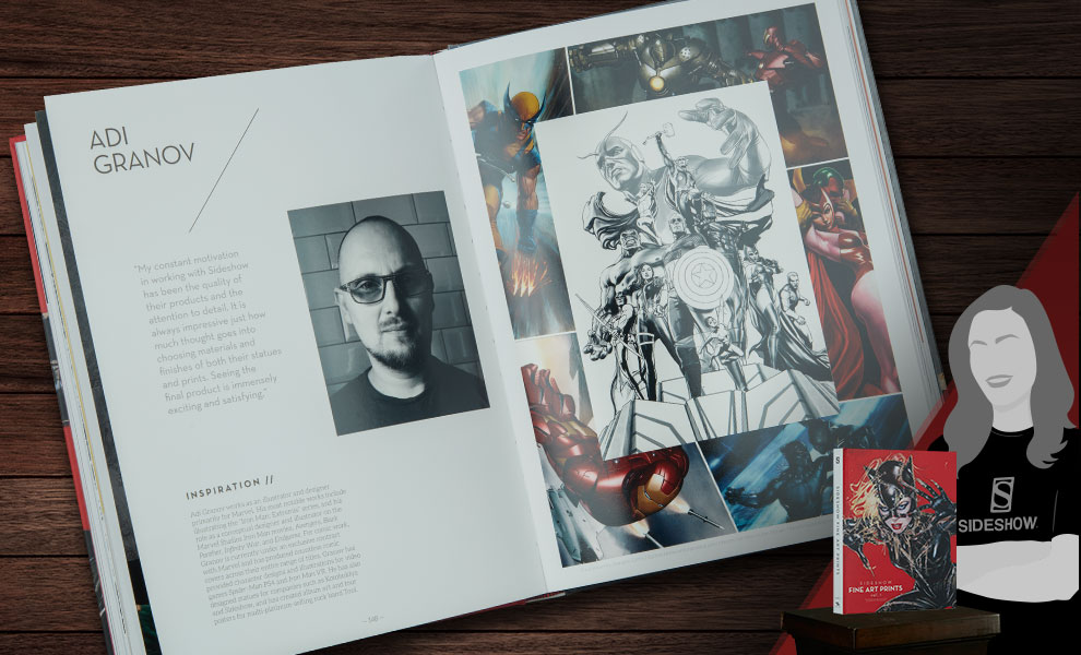 Gallery Feature Image of Sideshow: Fine Art Prints Vol. 1 Book - Click to open image gallery