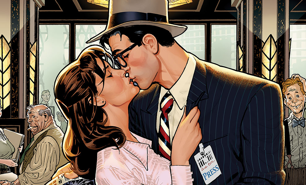 Gallery Feature Image of Lois & Clark: Fireworks!! Art Print - Click to open image gallery
