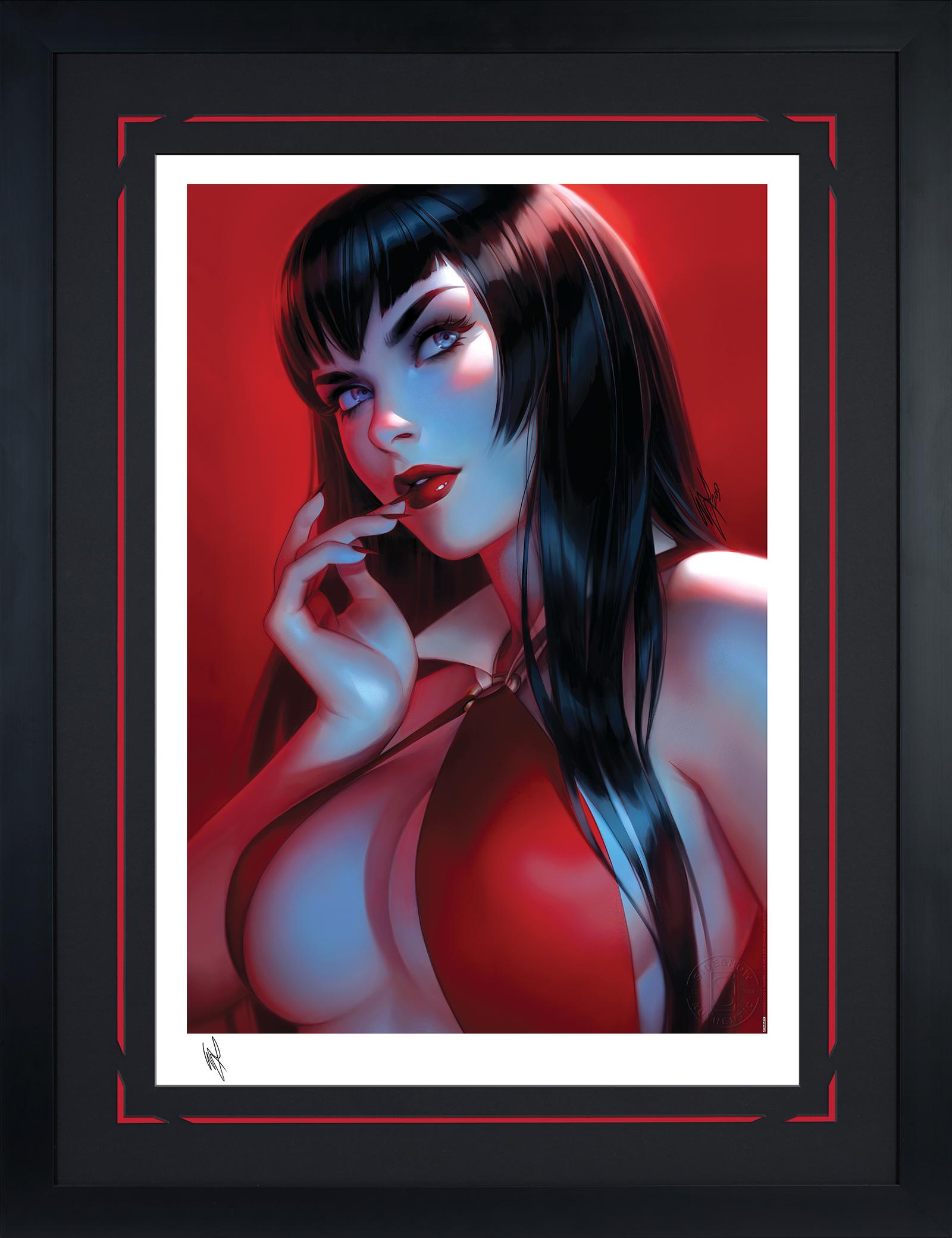 Sideshow Collectibles Vampirella #7 Art Print