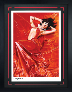 Vampirella: Roses for the Dead Art Print