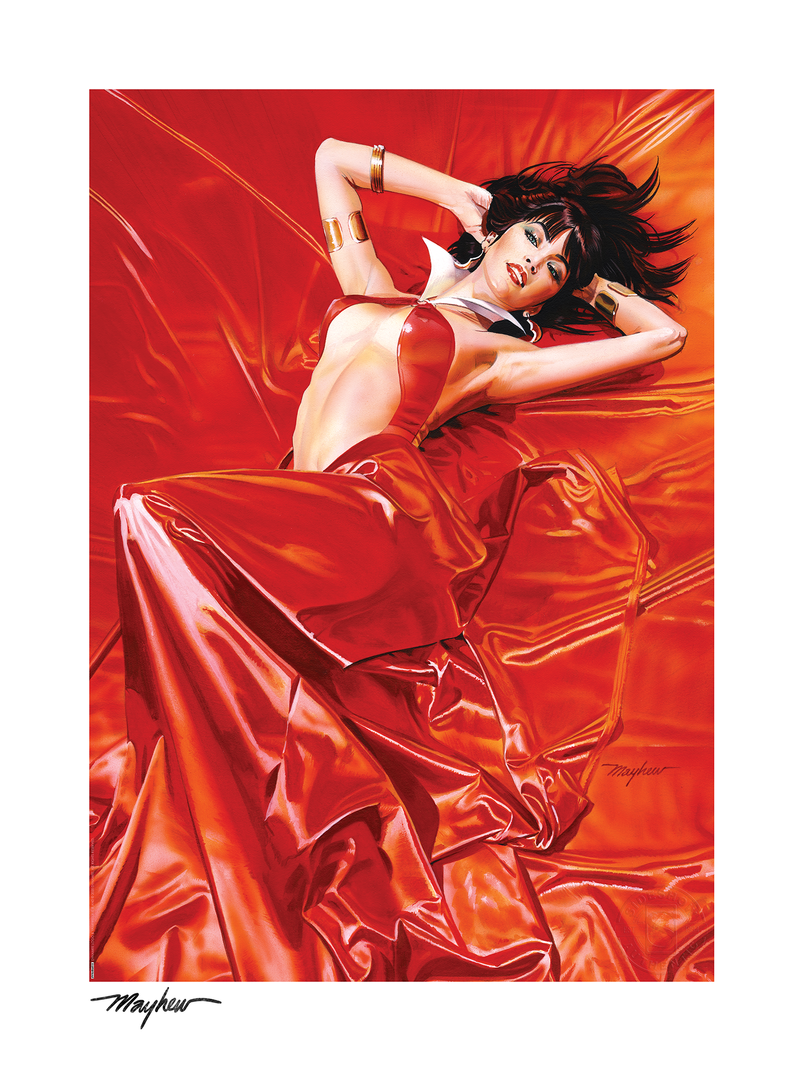 Sideshow Collectibles Vampirella: Roses for the Dead Art Print