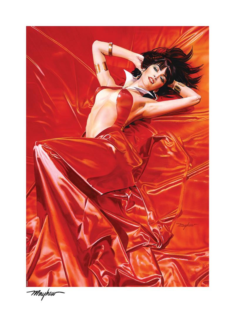 Vampirella: Roses for the Dead Art Print -
