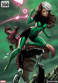 Gallery Image of Uncanny X-Men: Rogue & Gambit Art Print