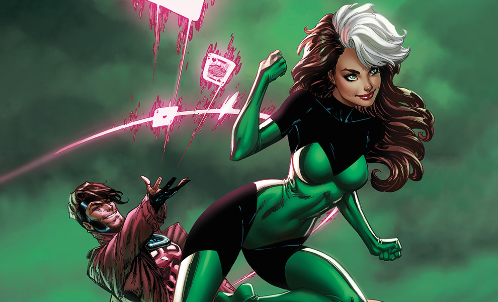 Gallery Feature Image of Uncanny X-Men: Rogue & Gambit Art Print - Click to open image gallery